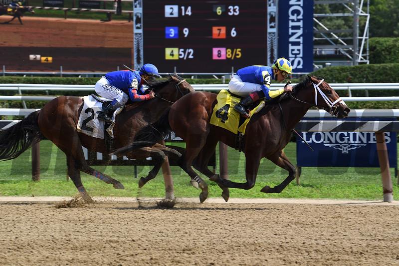Bank On Shea - Maiden Win, Saratoga, July 14, 2019<br /> Coglianese Photos