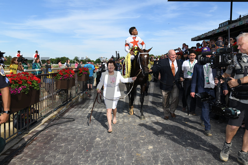 Mitole wins the 2019 Runhappy Metropolitan Handicap at Belmont Park<br /> Coglianese Photos