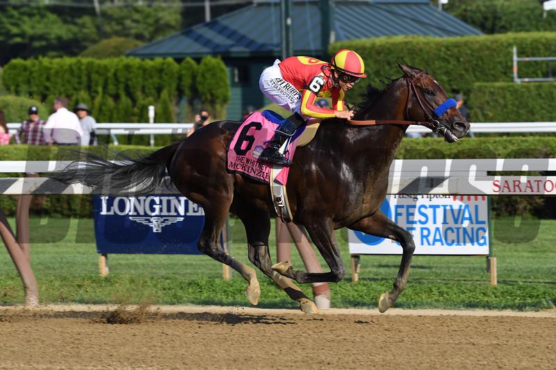 McKinzie wins the 2019 Whitney Stakes at Saratoga<br /> Coglianese Photos