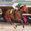 Aztec Sense wins the 2019 Fred W. Hooper Stakes at Gulfstream Park<br /> Coglianese Photos