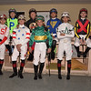2019 Pegasus World Cup Turf Invitational Jockeys<br /> Coglianese Photos/Leslie Martin