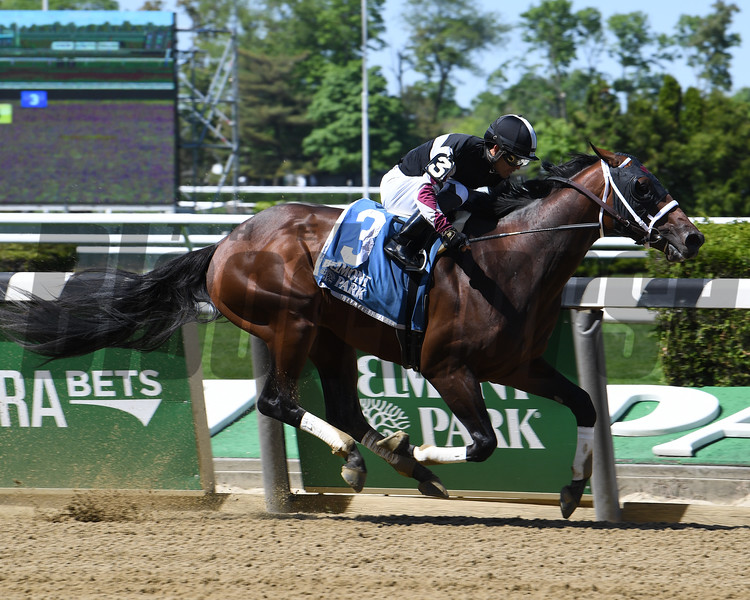 Global Campaign wins the 2019 Peter Pan Stakes at Belmont Park<br /> Coglianese Photos/Susie Raisher