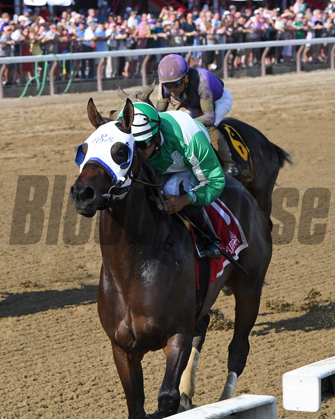 Out of Orbit wins the 2019 Saratoga Dew Stakes at Saratoga<br /> Coglianese Photos/Chelsea Durand