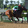 Blindwillie McTell wins the Mike Lee Stakes Monday, May 27, 2019 at Belmont Park. Photo: Coglianese Photos/Susie Raisher