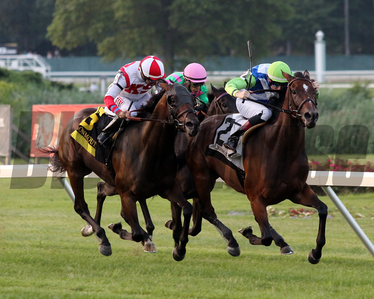 I'm So Fancy with Trevor McCarthy win the 53rd Running of The Matchmaker Stakes (GIII) at Monmouth Park on July 20, 2019. Photo By: Chad B. Harmon