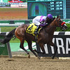 Fore Left wins the 2019 Tremont Stakes at Belmont Park<br /> Coglianese Photos/Derbe Glass