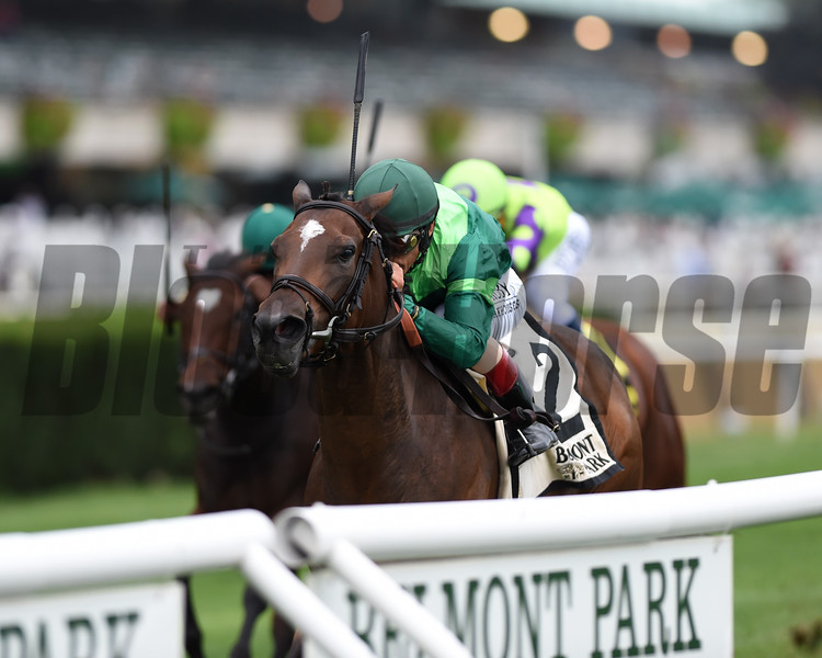 Blowout wins the 2019 Pebbles Stakes at Belmont Park<br /> Coglianese Photos/Chelsea Durand