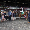 Minit to Stardom wins the Honorable Miss Handicap Wednesday, July 24, 2019 at Saratoga. Photo: Coglianese Photos
