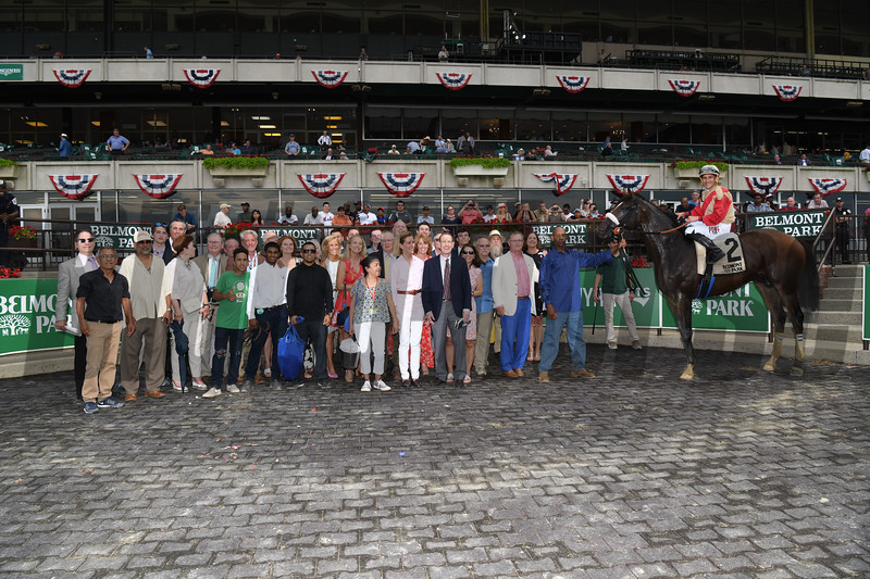 Preservationist wins the 2019 Suburban Stakes at Belmont Park<br /> Coglianese Photos