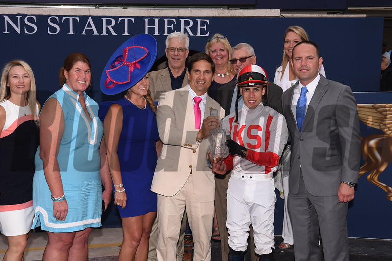 Focus Group wins 2019 Pan American Stakes at Gulfstream Park. Photo: Coglianese Photos