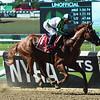 Mr. Buff wins the Saginaw Stakes Sunday, June 30, 2019 at Belmont Park. Photo: Coglianese Photos/Elsa Lorieul
