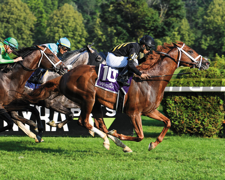 Channel Cat, Luis Saez, Bowling Green Stakes, G2T, Saratoga Race Course, July, 27, 2019