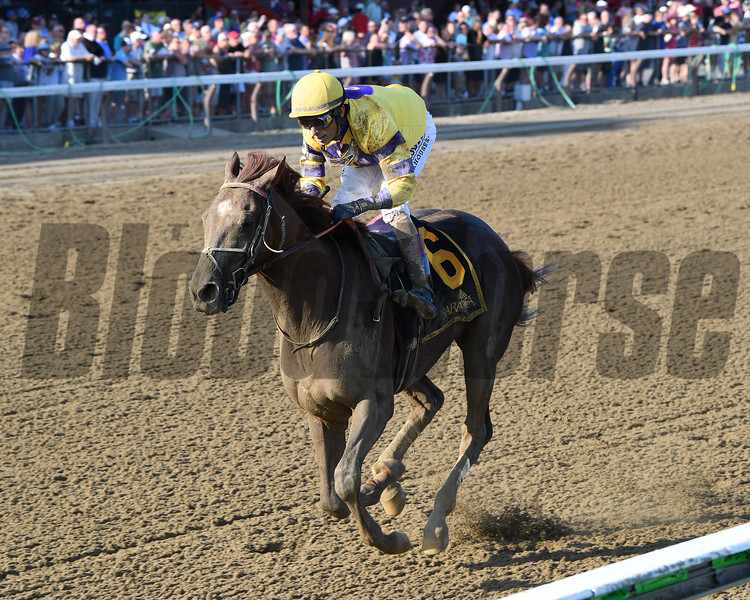 King Zachary wins the 2019 Birdstone Stakes at Saratoga<br /> Coglianese Photos/Chelsea Durand