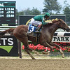 Code of Honor wins the 2019 Dwyer Stakes at Belmont Park<br /> Coglianese Photos/Janet Garaguso