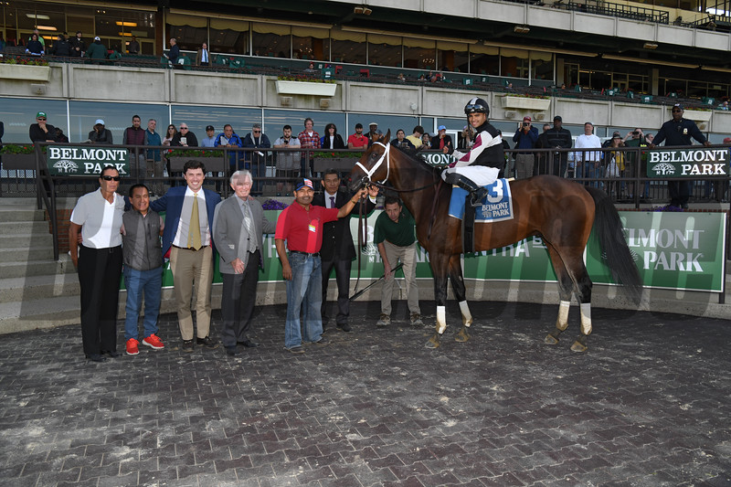 Global Campaign wins the 2019 Peter Pan Stakes at Belmont Park<br /> Coglianese Photos