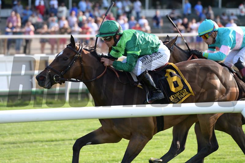 Blowout wins the 2019 Wild Applause Stakes at Belmont Park<br /> Coglianese Photos/Joe Labozzetta