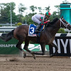 Firenze Fire wins the 2019 Runhappy Stakes at Belmont Park<br /> Coglianese Photos/Viola Jasko