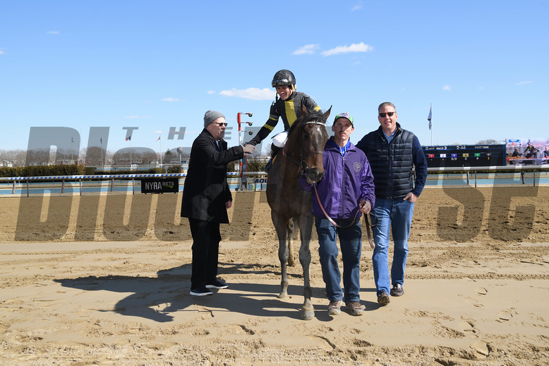 Durkin's Call wins the 2019 Gander Stakes at Aqueduct<br /> Coglianese Photos