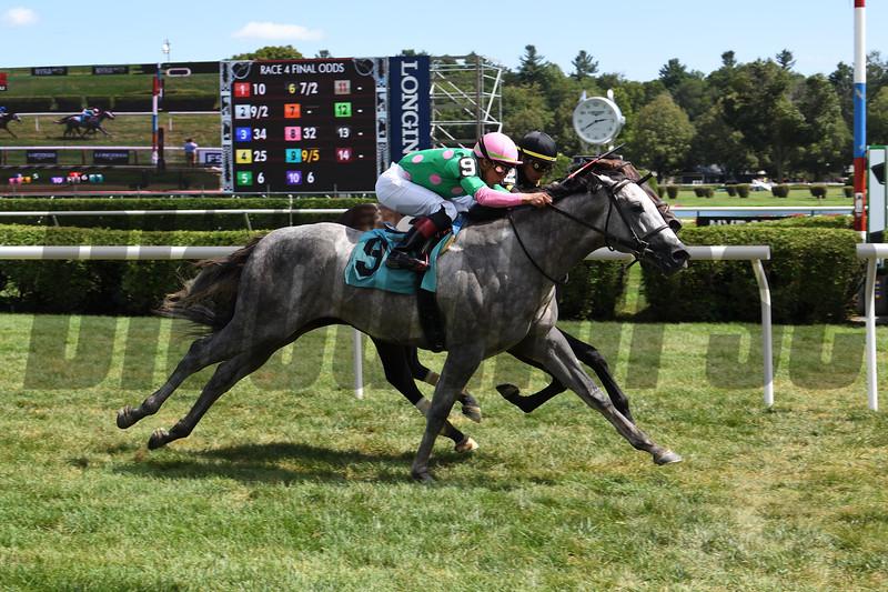 Fly Fly Away - Maiden Win, Saratoga, August 9, 2019. Photo: Coglianese Photos