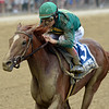 Code of Honor wins the 2019 Dwyer Stakes at Belmont Park<br /> Coglianese Photos/Elsa Lorieul