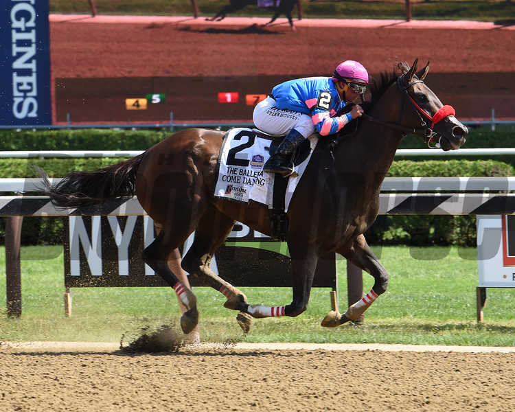 Come Dancing wins the 2019 Ballerina at Saratoga<br /> Coglianese Photos/Janet Garaguso