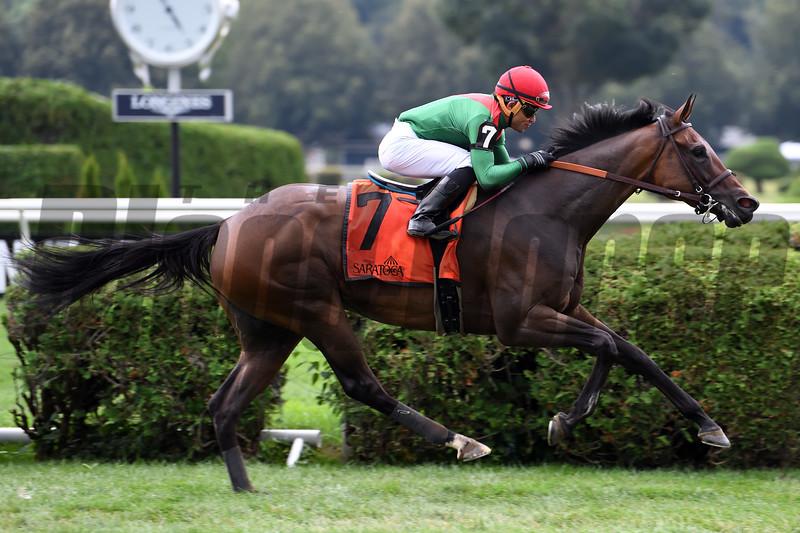 Oleksandra wins the 2019 Smart N Fancy Stakes at Saratoga<br /> Coglianese Photos/Susie Raisher