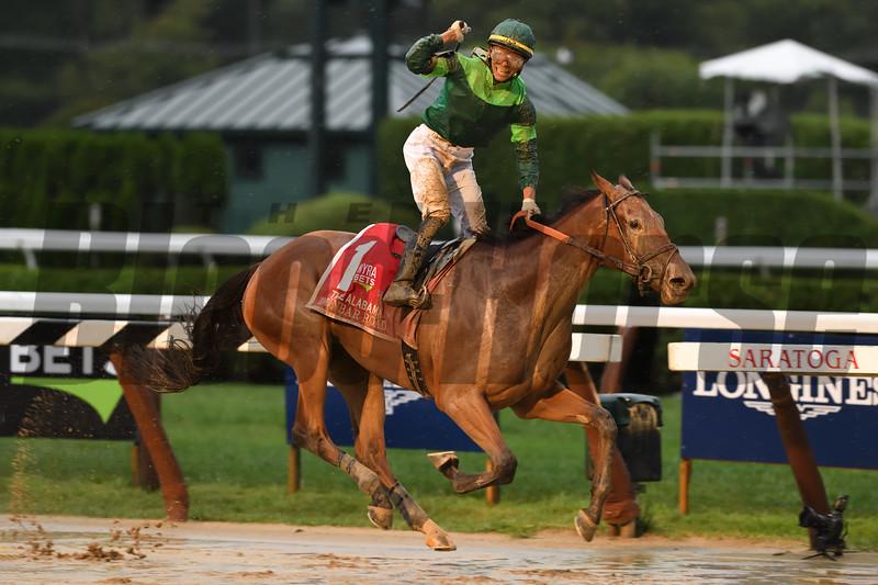 Dunbar Road wins the 2019 Alabama Stakes at Saratoga <br /> Coglianese Photos
