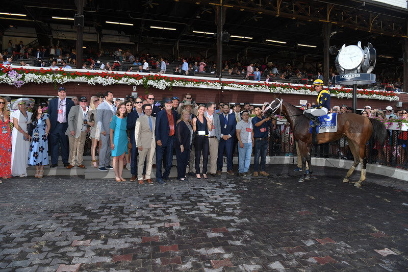 Covfefe wins the 2019  Longines Test Stakes at Saratoga<br /> Coglianese Photos