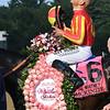 McKinzie wins the 2019 Whitney Stakes at Saratoga. Photo: Coglianese Photos/Rob Mauhar