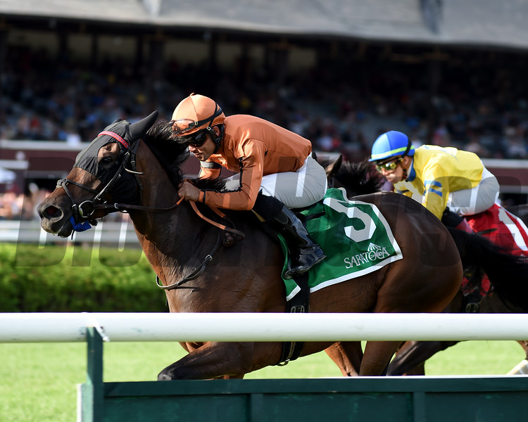Mrs. Sippy wins the 2019 Glens Falls Stakes at Saratoga<br /> Coglianese Photos/Janet Garaguso
