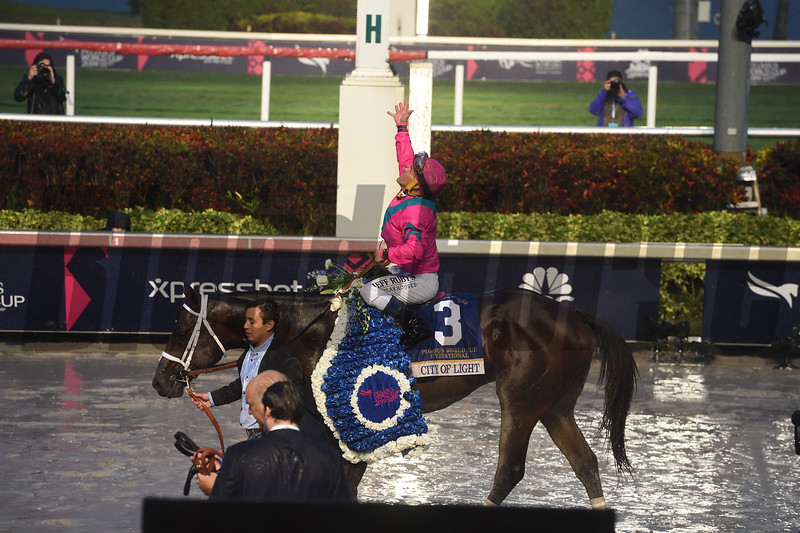 City of Light wins the 2019 Pegasus World Cup at Gulfstream Park<br /> Coglianese Photos/Leslie Martin