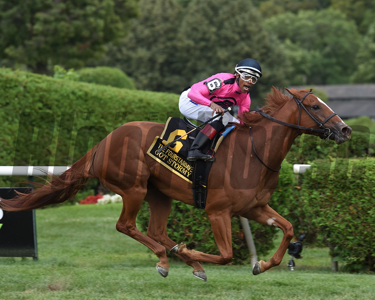 Got Stormy wins the 2019 Fourstardave at Saratoga<br /> Coglianese Photos