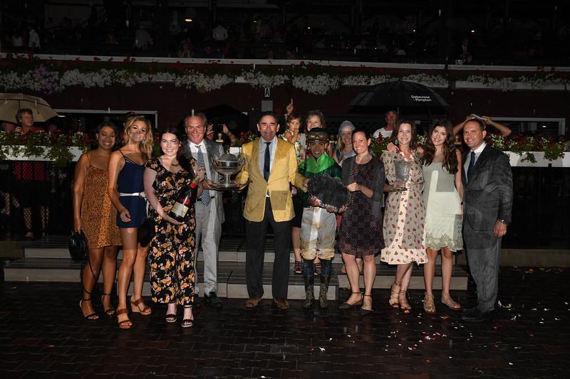 Dunbar Road wins 2019 Alabama Stakes at Saratoga. Photo: Coglianese Photos
