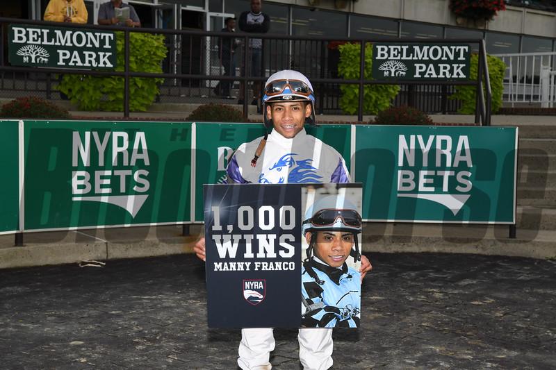 Jockey Manny Franco 1000 wins
