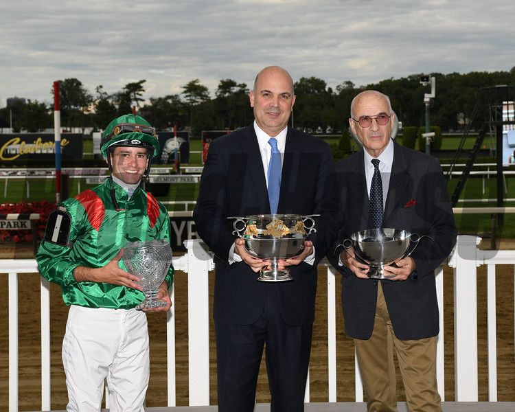 Edisa wins the 2019 Jockey Club Oaks Invitational    <br /> Coglianese Photos