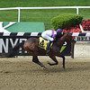 Fore Left wins the 2019 Tremont Stakes at Belmont Park<br /> Coglianese Photos/Janet Garaguso