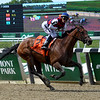 Guarana wins the 2019 Acorn Stakes at Belmont Park<br /> Coglianese Photos/Derbe Glass