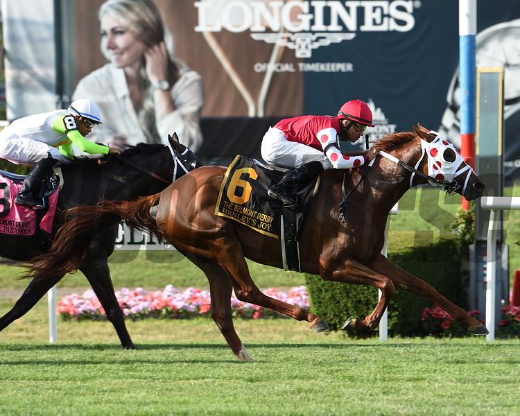 Henley's Joy wins the 2019 Belmont Derby Invitational<br /> Coglianese Photos/Janet Garaguso