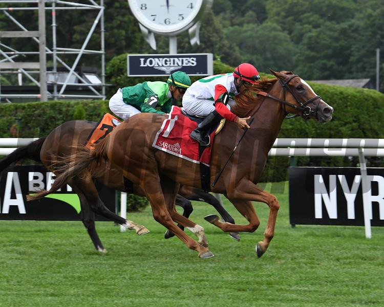 Regal Glory wins the 2019 Lake George Stakes at Saratoga<br /> Coglianese Photos/Susie Raisher