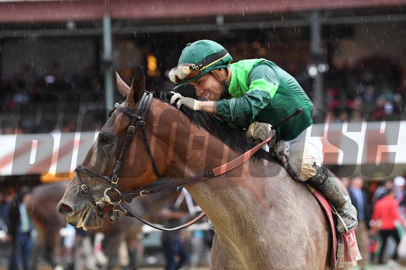 Dunbar Road wins the 2019 Alabama Stakes at Saratoga<br /> Coglianese Photos/Elsa Lorieul