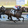 America's Tale wins the 2019 Inside Information at Gulfstream Park<br /> Coglianese Photos/Leslie Martin