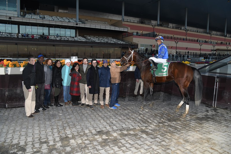 Haikal wins the 2019 Gotham Stakes at Aqueduct<br /> Coglianese Photos