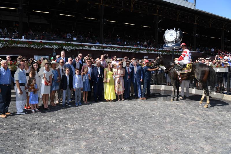 Mind Control wins the 2019 H. Allen Jerkens Stakes at Saratoga. Photo: Coglianese Photos