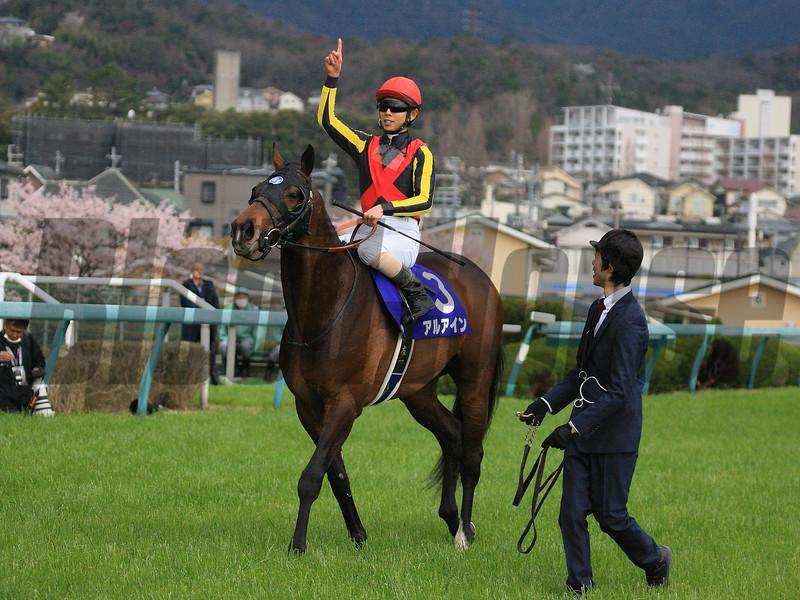 Al Ain wins 2019 Osaka Hai at Hanshin Racecourse. Photo: Naoji Inada
