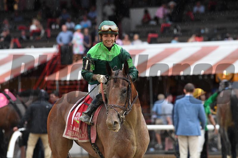 Dunbar Road wins 2019 Alabama Stakes at Saratoga. Photo: Coglianese Photos/Elsa Lorieul