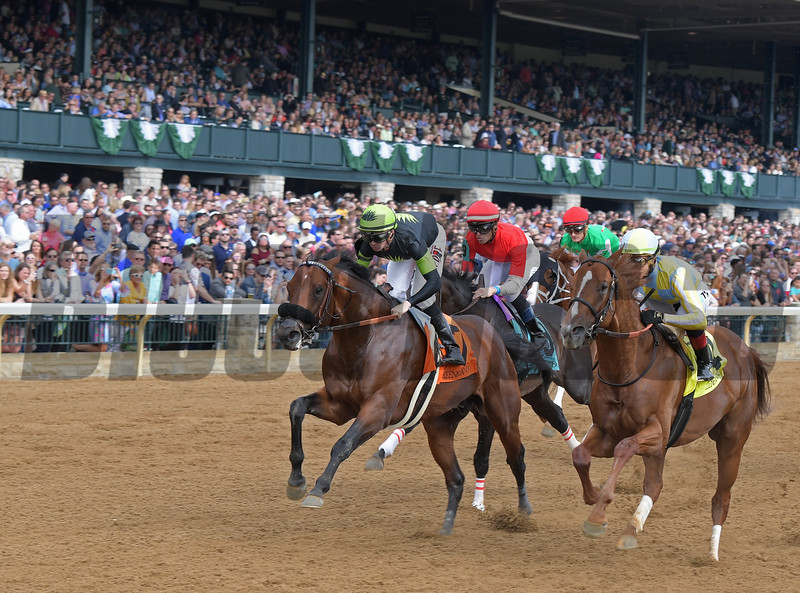 First Time by in Ben Ali (G3) at Keeneland on Saturday, April 13, 2019.