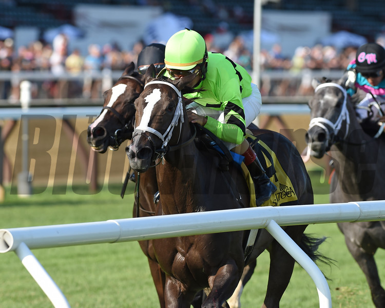 Break Even wins the Coronation Cup Stakes Sunday, July 14, 2019 at Saratoga. Photo: Coglianese Photos/Chelsea Durand