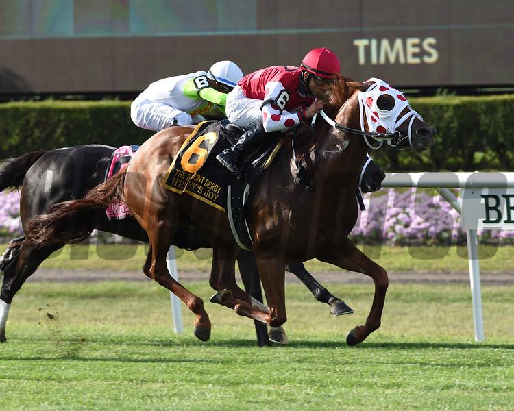 Henley's Joy wins the 2019 Belmont Derby Invitational  <br /> Coglianese Photos