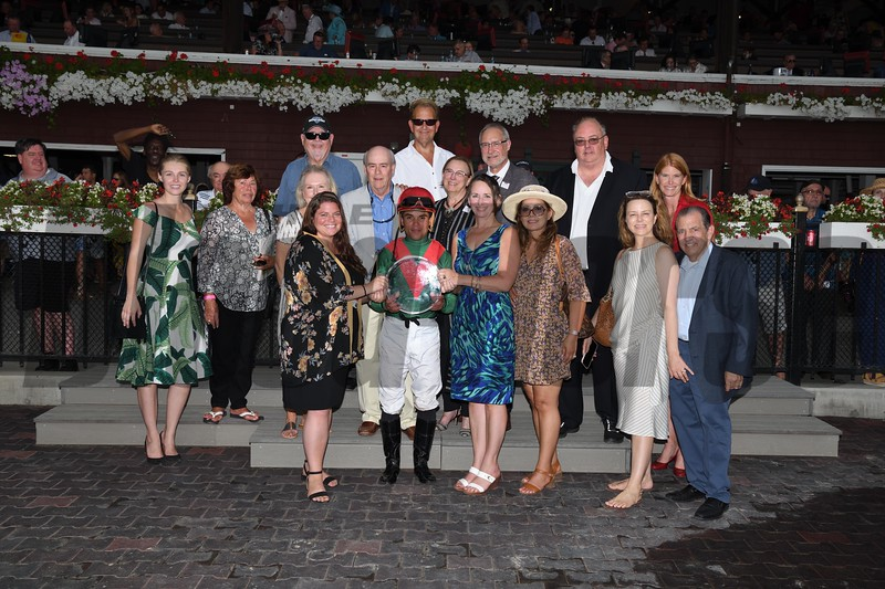 Oleksandra wins the 2019 Smart N Fancy Stakes at Saratoga<br /> Coglianese Photos