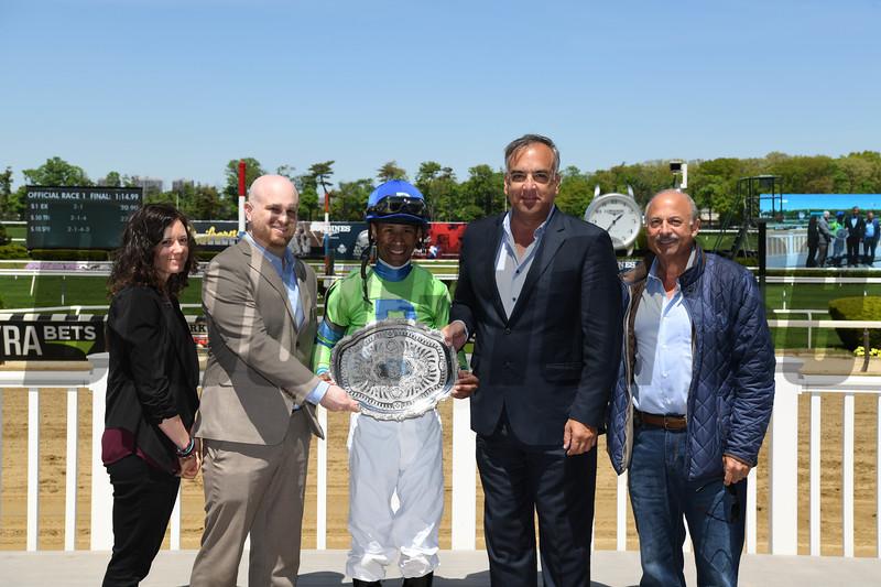 Heavenhasmynikki wins the 2019 Vagrancy Stakes at Belmont Park <br /> Coglianese Photos